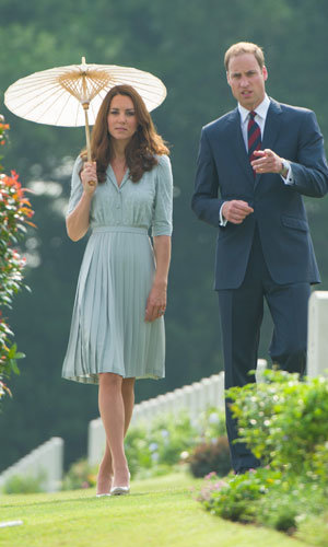 Kate Middleton styles up two more chic dresses on her Eastern tour!