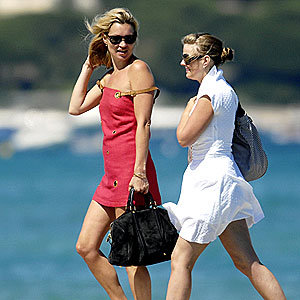 Kate Moss's St Tropez style