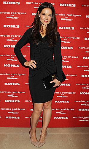 Katie Holmes and Emma Roberts help designer Narciso Rodriguez launch new collection for Kohl's!