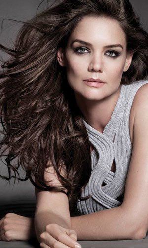 Katie Holmes is the new celebrity spokesperson for Alterna Haircare