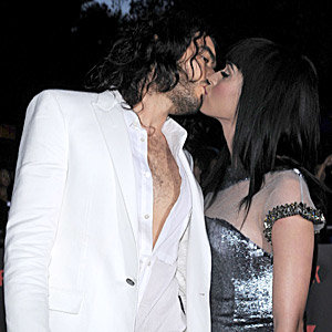 Russell Brand and Katy Perry dazzle at the Get Him to the Greek premiere