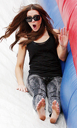 SEE Kate Beckinsale's family fun-day style