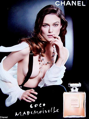 SEE Keira smoulder in new Chanel ad