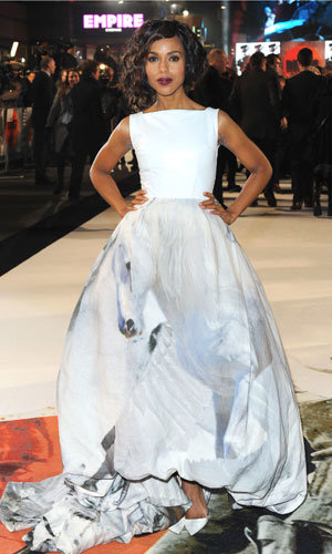 Kerry Washington wows in Giles at the Django Unchained London premiere