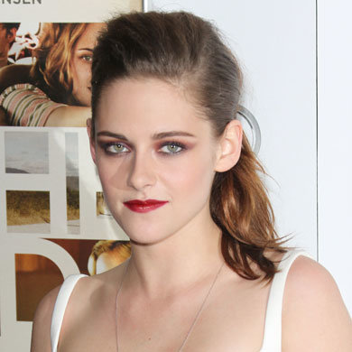 Celebrity hairstyle of the day: Kristen Stewart's ponytail quiff