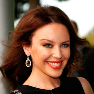 CELEB HAIR alert: Kylie Minogue goes from blonde to brunette…