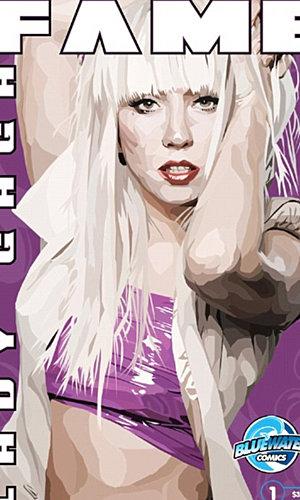 Another transformation for Lady GaGa as she becomes a comic book hero
