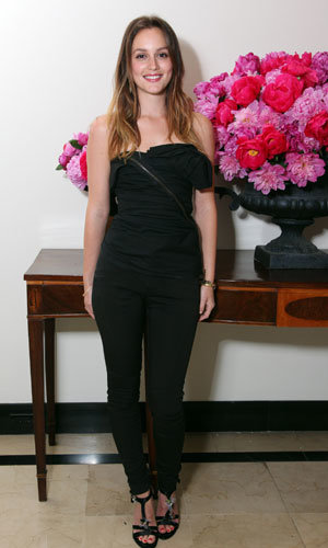 Leighton Meester launches Lovestruck fragrance by Vera Wang