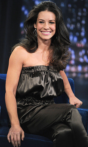 PICS: Evangeline Lily wigs out on US TV