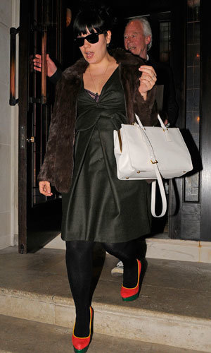 Lily Allen and Sam Cooper enjoy a date night out in London…