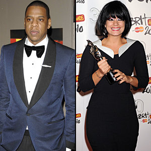 Lily Allen's newest fan: Jay-Z