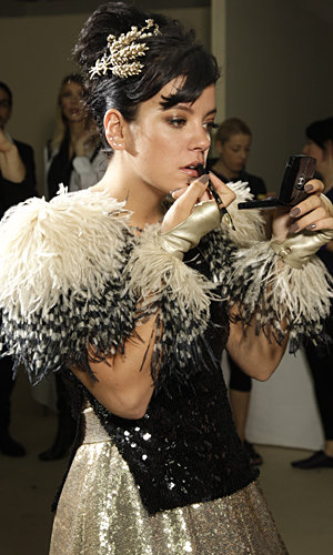 Lily Allen gets Chanel's nude look