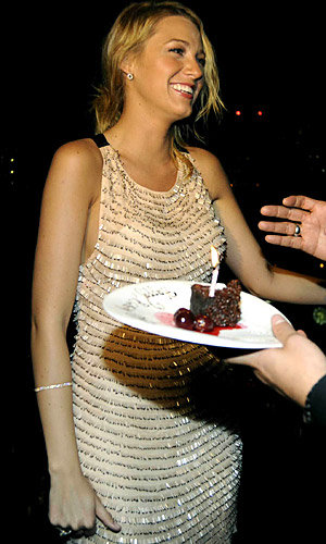 Blake Lively celebrates birthday with InStyle