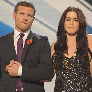 Shock X Factor exit for Lucie Jones