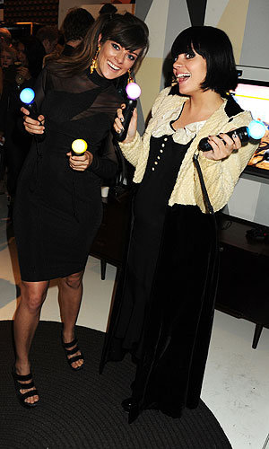 SEE PICS Lily Allen and Sarah Owen at the launch of Lucy in Disguise