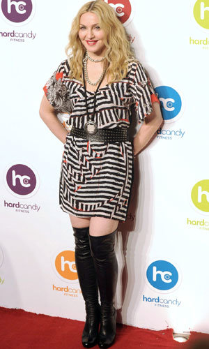 Madonna opens the first of her Hard Candy Fitness gyms!