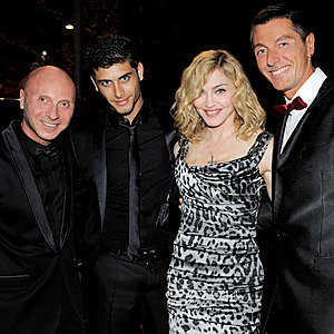 Madonna and Dolce do dinner