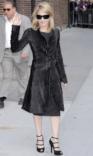 VIDEO: Madonna wows on Letterman