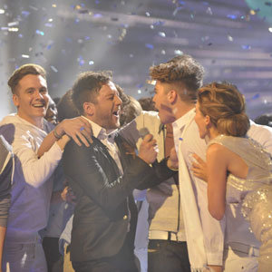 Matt Cardle is crowned the X Factor 2010 winner