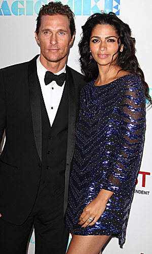 Matthew McConaughey and Camila Alves expecting third child!