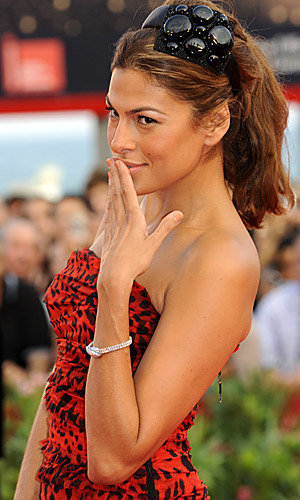Eva Mendes owns the red carpet at the Venice Film Festival