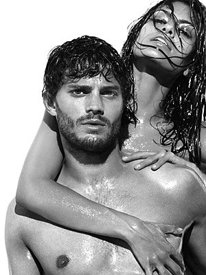 Eva Mendes and Jamie Dornan strip for Calvin Klein!