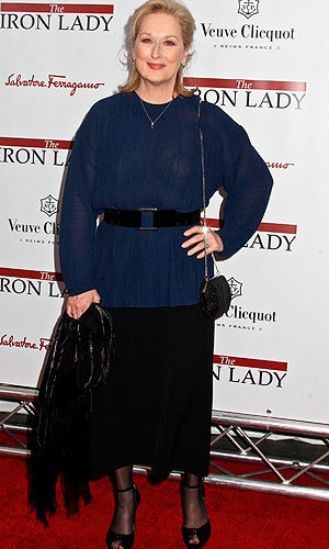 Anne Hathaway, Olivia Wilde and Meryl Streep hit The Iron Lady premiere…