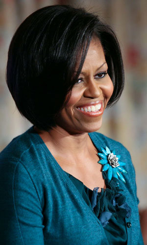 Michelle Obama books a performance with Glee!