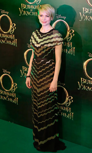 Mila Kunis and Michelle Williams dazzle at Oz The Great and Powerful premiere