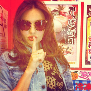 Get a sneak peak in to Miranda Kerr's trip to Japan!