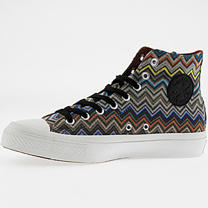 Missoni for Converse revealed in Milan
