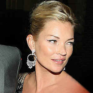 Kate Moss steals the limelight at Topshop's cocktail party