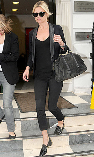 Kate Moss in Repetto's Jackson shoe