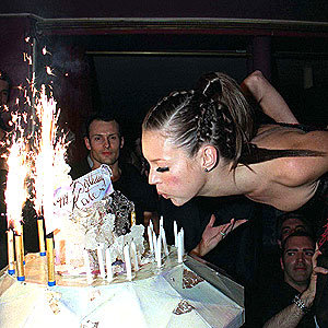 Kate Moss's birthday party