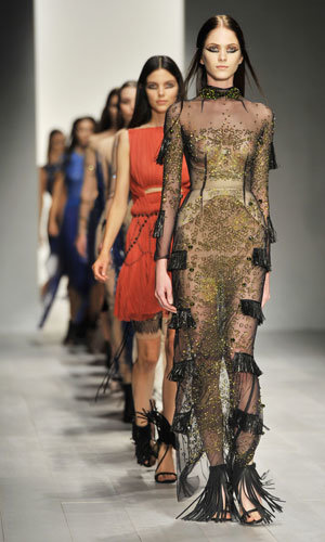 London Fashion Week Spring Summer 2013: Matthew Williamson & Marios Schwab show reports