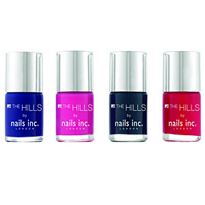 The Hills collection – new from Nails Inc