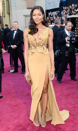 Naomie Harris wows in eco dress at the Oscars 2013