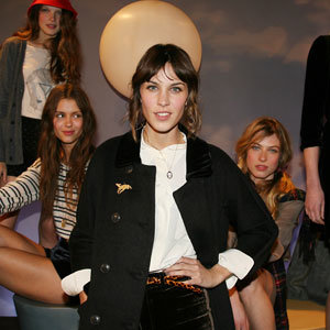 Alexa Chung presents her fashion line for Madewell