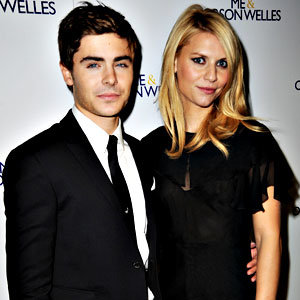 Zac Efron and Claire Danes at Me and Orson Welles premiere