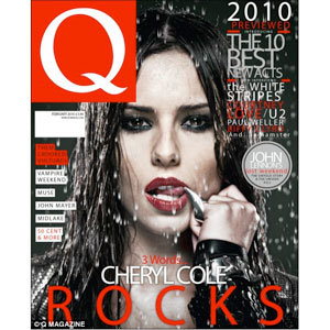 Cheryl Cole goes vamp on cover of Q