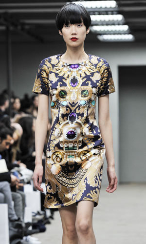 Mary Katrantzou inspired by Mawi