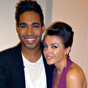 Cheryl Cole and Dannii Minogue's hairstyles