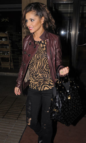 Celebrity Fashion Buy! Cheryl Cole's zebra top