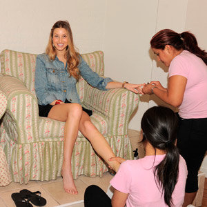 SPOTTED: Celebs getting pampered