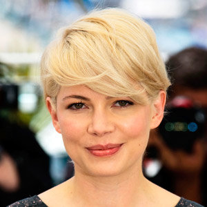 PICS JUST IN: Michelle Williams' peroxide 'frop' cut