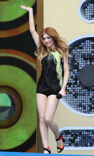FESTIVALS: Nicola Roberts, The Saturdays, Eliza Doolittle and co. hit T4 in the Beach and T in the Park