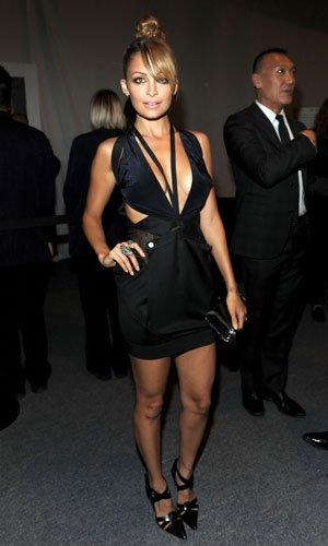 Nicole Richie smoulders at the Style Awards