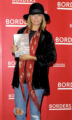 Nicole Richie launches her new book, Priceless, in NYC!