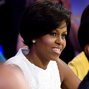Michelle Obama gets the chop!