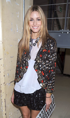 Get Olivia Palermo's gorgeous Topshop jacket
